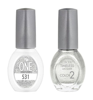 Galactic Diamonds Matching Color of One Gel Polish & Timeless Lacquer Duo Set