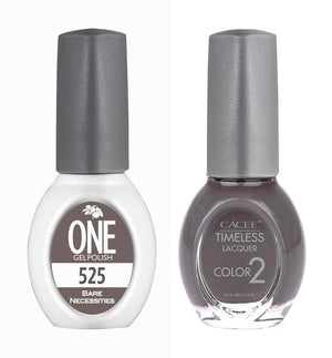 Bare Necessities Matching Color of One Gel Polish & Timeless Lacquer Duo Set