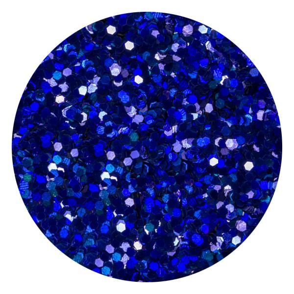 Art Glitter & Confetti, #195 Hexagon Metallic Blue