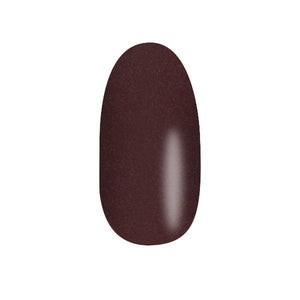 Color Acrylic Nail Pearl Art Powder, Pecan Brown #64