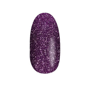 Color Acrylic Nail Art Powder, Periwinkle Glitter #31