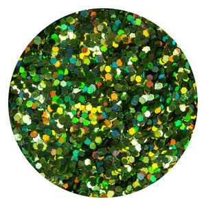 Art Glitter & Confetti, #191 Hexagon Holo Green