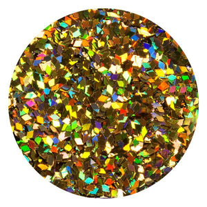 Art Glitter & Confetti, #069 Small Diamond Holo Gold