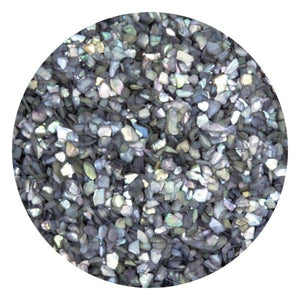 Art Glitter & Confetti, #080 Chunky Grey Crushed Shell