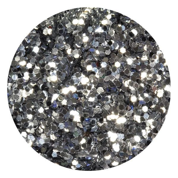 Art Glitter & Confetti, #187 Hexagon Silver
