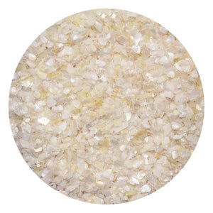 Art Glitter & Confetti, #058 Chunky White Crushed Shell