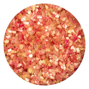 Art Glitter & Confetti, #075 Chunky Peach Crushed Shell