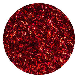 Art Glitter & Confetti, #036 Rectangle Dark Red