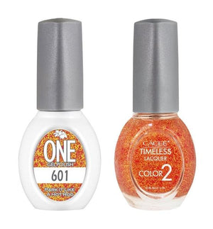 Park It Like A Hot Rod Matching Color of One Gel Polish & Timeless Lacquer Duo Set