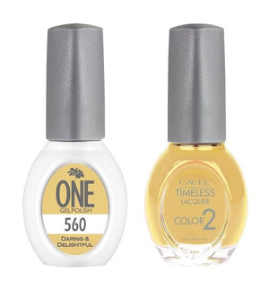 Daring & Delightful Matching Color of One Gel Polish & Timeless Lacquer Duo Set