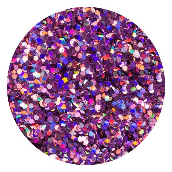 Art Glitter & Confetti, #179 Hexagon Holo Purple