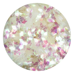 Art Glitter & Confetti, #170 Med Diamond Iridescent White