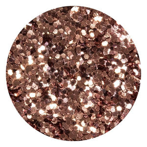 Art Glitter & Confetti, #200 Hexagon Rose Gold
