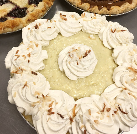 9 Inch Coconut Cream Pie