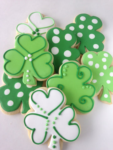 Sugar Cookie Decorating Class - Saturday, 3/16.  4:15:-6:15 p.m., St. Patrick's Day Themed