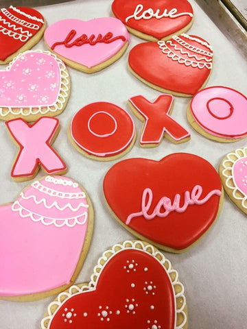 Sugar Cookie Decorating Class - Saturday, 1/25.  4:15 to 6:15 p.m., Valentine's Day