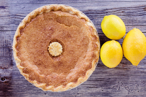 9 inch Lemon Chess Pie In-store Pickup