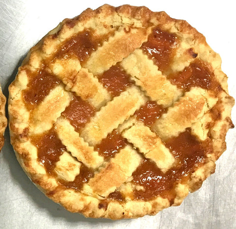 9 inch Country Peach Pie Local Delivery