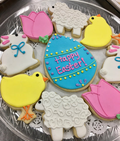 Sugar Cookie Decorating Class - Sat, 3/28.  4:15 to 6:15 p.m., Easter Themed