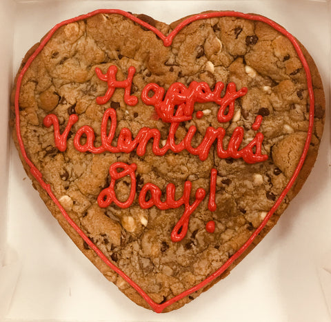 9 inch Heart shaped Cookie In-store Pickup