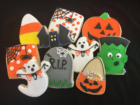 Sugar Cookie Decorating Class - Sunday, 10/8.  11 a.m. to 1 p.m., Halloween