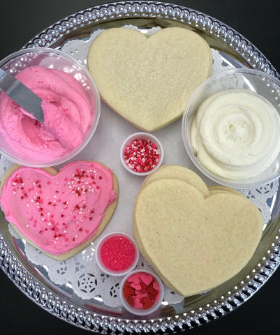 Valentine's Day Sugar Cookie Decorating Kit Local Delivery