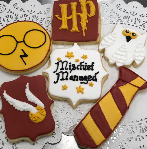 Sugar Cookie Decorating Class - Saturday, August 3,  4:15 p.m. to 6:15 p.m., Harry Potter Themed