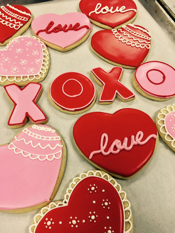 Class - Friday, 1/19.  6-8 p.m., Valentine's Day Themed