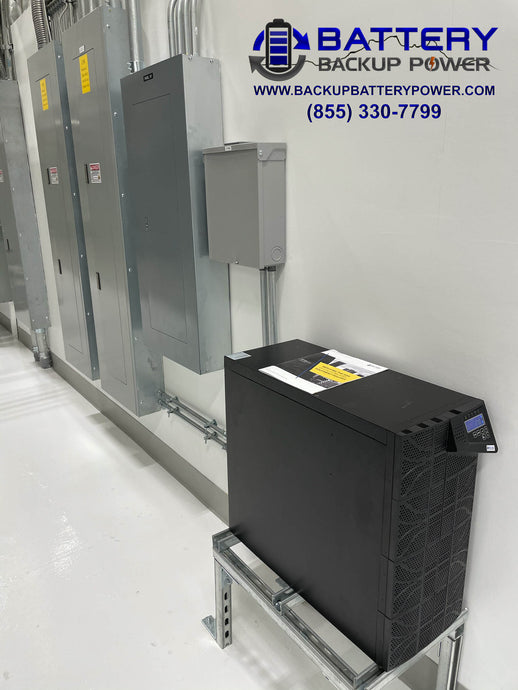 10KVA Power Conditioning UPS Installed On Sub Panel Protects Texas Lab