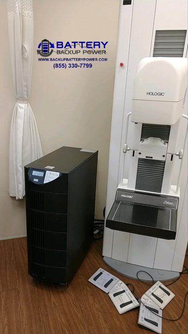 Battery Backup Power, Inc. UPS Protecting Hologic Diagnostic & Medical Imaging Machine