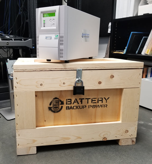 Battery Backup UPS Easily Handles 16 Power Outages In 5 Days