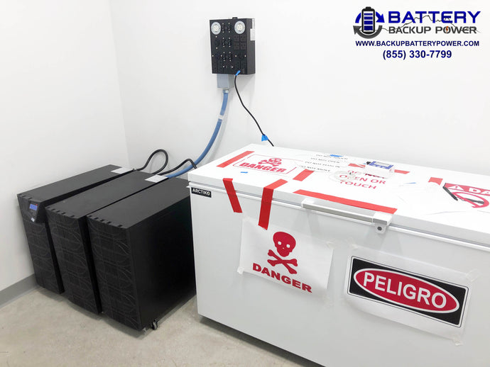 Battery Backup Options For Cold Storage, Vaccine Refrigerators, & Freezers