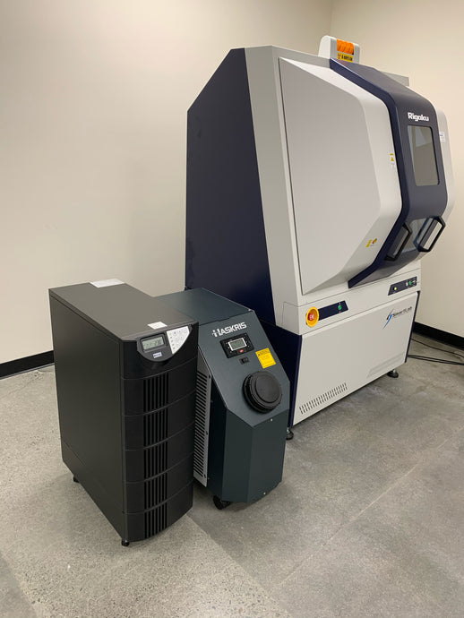 Haskris Pump and Rigaku SmartLab X-ray Diffractometer On Battery Backup UPS