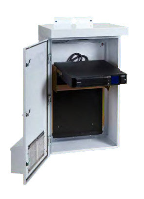 Pre-Configured NEMA Enclosures With Integrated Backup Power (UPS)