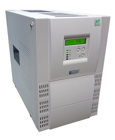 Online (Double Conversion) Battery Backup Uninterruptible Power Supply Systems (UPS) And Power Conditioners