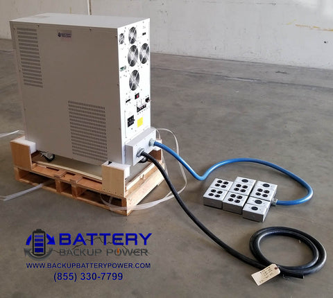 15 KVA Battery Backup UPS With PDU Side View
