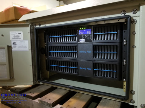 Battery Backup Power, Inc. System In NEMA 3R Enclosure