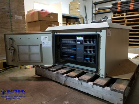 Battery Backup Power, Inc. System In NEMA 3R Enclosure Open