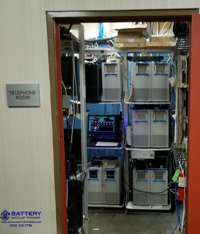 Phone Room With Backup Power System