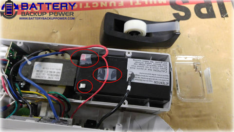 Battery Backup Power Uninterruptible Power Supply (UPS) Battery Replacement Step 6