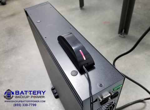 Battery Backup Power, Inc. Text SMS Email Notification System Detecting Utility Power Is Lost