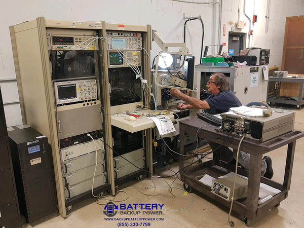 Battery Backup Power 3 Phase 120/208Y Power Conditioner UPS Protecting Lab Avionics Test Bench