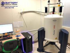 Battery Backup With Bruker Fourier 300 NMR
