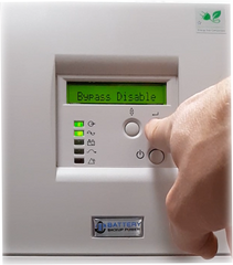 Battery Backup Power, Inc. Uninterruptible Power Supply (UPS) System Bypass Disable