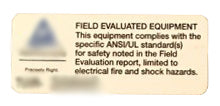 Field Inspection Certification Example