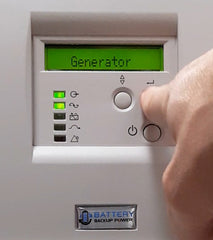 Battery Backup Power, Inc. Online (Double Conversion) Uninterruptible Power Supply (UPS) System Generator Mode