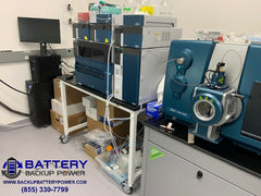 Battery Backup For GCMS, LCMS, ICP, HPLC