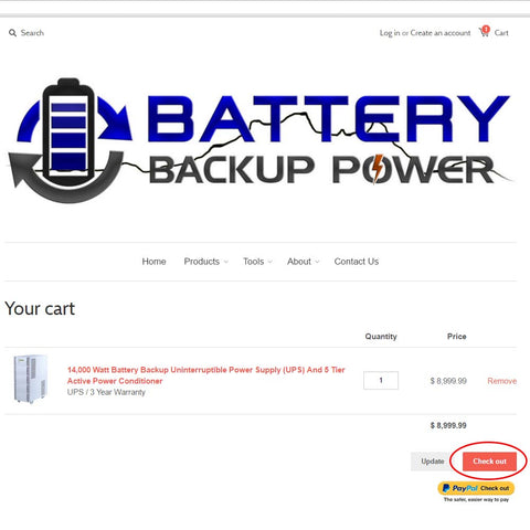 How To Order A Battery Backup Power UPS