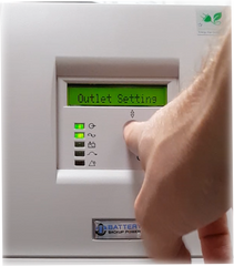 Battery Backup Power, Inc. Uninterruptible Power Supply (UPS) System Outlet Setting