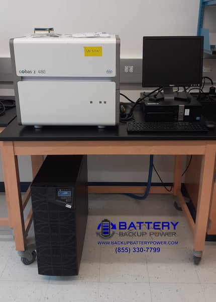 Lab Backup Power, Frequency Conversation, Voltage Conversion, And Power Conditioning All In One Protecting PCR Computer Monitor In Barbados